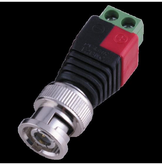 PV-T2BNC - коннектор BNC Male для подключения кабеля к BNC разъёму устройства, ver. K92