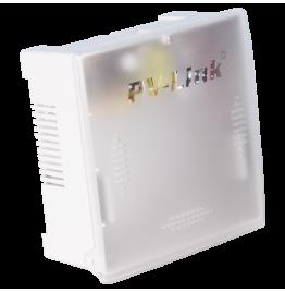 PV-DC1AP+ - профессиональный стабилизированный блок бесперебойного питания DC 12 В, 1 А с отсеком коммутации для АКБ, внутреннее исполнение, ver. 2039