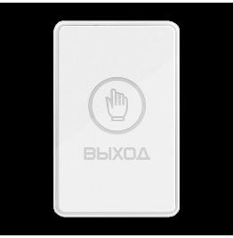 B60TL WHITE - сенсорная накладная кнопка с подсветкой, ver. 4271