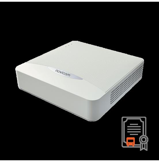 NR1604 - 4 канальный IP видеорегистратор c PoE, ver. 3049