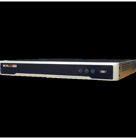 NR2816-P16 - 16 канальный IP видеорегистратор c PoE, ver. 3054